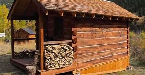 how to build a small square cabin cheap log cabins
