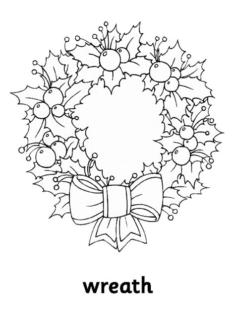 Coloring Pages Wreaths Az Coloring Pages Wreaths Coloring Pages