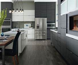 Kitchen Cabinet Remodeling by Laminate Cabinets In A Contemporary Kitchen Schrock