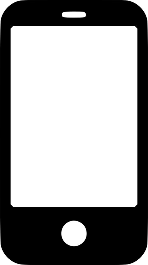 smartphone svg png icon