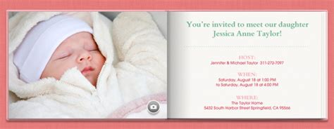 Baby Shower Free Online Invitations Baby Welcome Invitation Templates