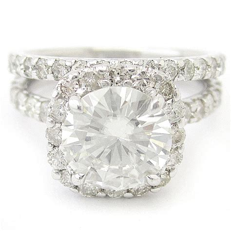 2ct cut harry winston inspired engagement
