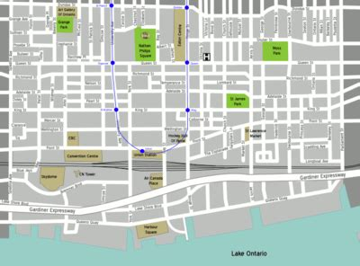 chicago financial district map toronto downtown wikitravel