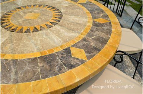 Mosaic Patio Table Top 49 Quot Outdoor Patio Garden Table Mosaic Marble Florida