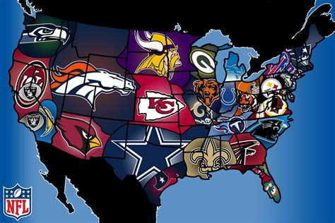 cool map of usa football archives common sense evaluation
