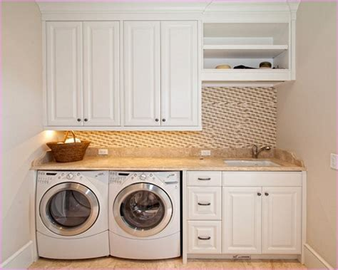 Countertop Washers by Laundry Room Countertop Ideas With Garnite Countertop