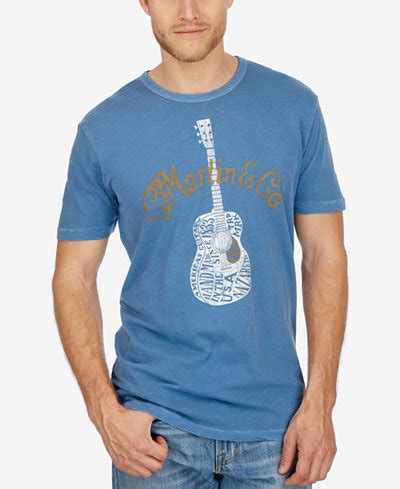Martin Co T Shirt lucky brand s martin co guitar t shirt t shirts