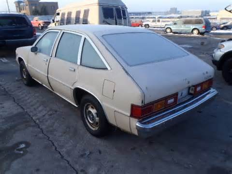 Chevrolet Citation For Sale Disappearing 1981 Chevrolet Citation But Trusty