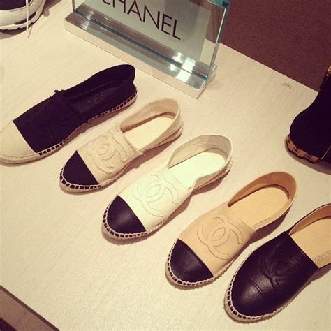 A C C E P T Exie Flatshoes Black chanel espadrilles the canvas with frayed ccs in