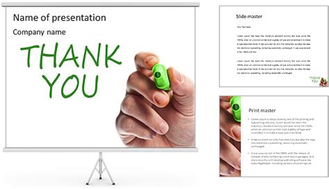 Thank You Note Template Powerpoint Written Thank You Note Powerpoint Template Backgrounds Id 0000003875 Smiletemplates
