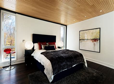 Decorating Ideas For Bedroom Walls red black and white interiors living rooms kitchens