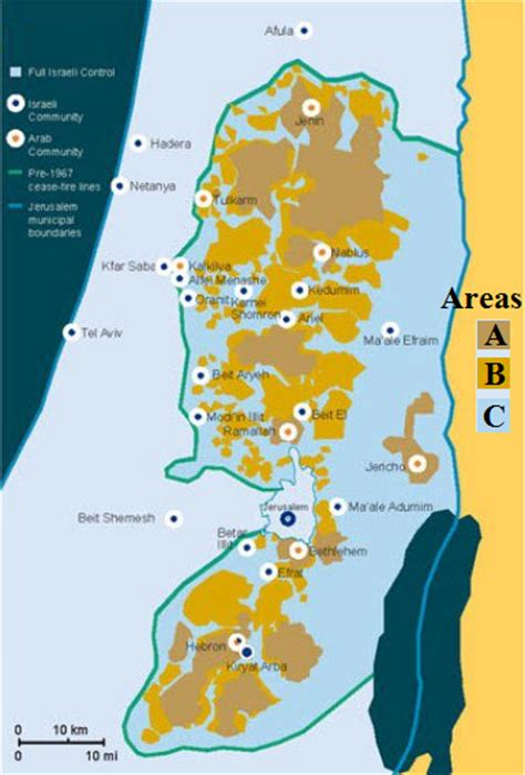 area a west bank israel and stuff 187 israel offers palestinians