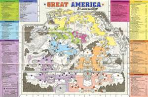 great america california map destroy the picture page 616 theme park review