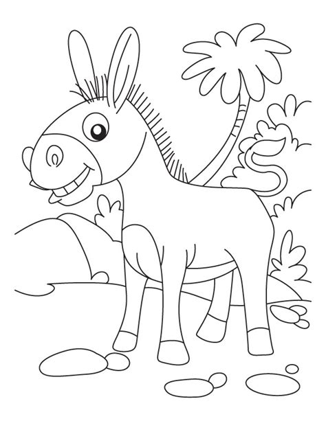 donkey coloring pages preschool donkey coloring page az coloring pages
