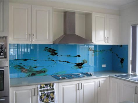 digital kitchen backsplash design dilemma digital art makes a splash home design find