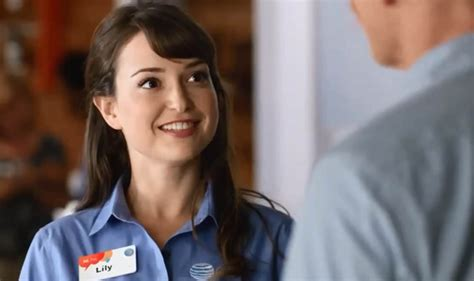 verizon commercial actress milana vayntrub lily from those at t ads has a