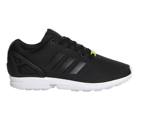 Adidas Zx Flux Black 36 7 Aq2936 adidas zx flux black white unisex sports