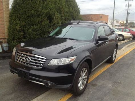 base sport utility 4 door buy used 2006 infiniti fx35 base sport utility 4 door 3 5l in bridgeview illinois united states