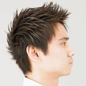 how to spike medium length hair hairstyles for asian men