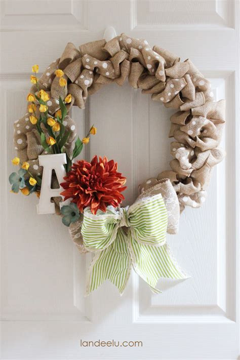 diy wreath ideas diy projects pretty diy fall wreaths landeelu com