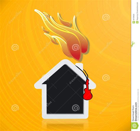 blaze house music music house with fire stock photography image 30106622