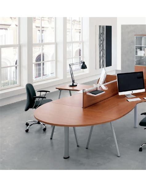 Scrivania A L by Scrivania Workstation A L Per Ufficio Con Gambe A