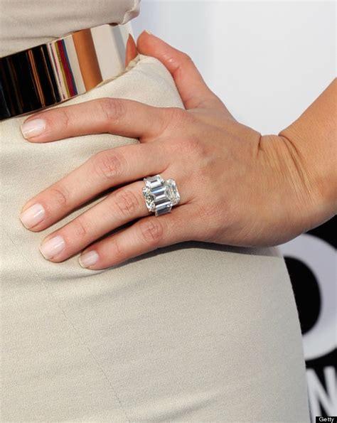 kim kardashian engagement ring cost kanye kim kardashian s ring from kanye is smaller than her last