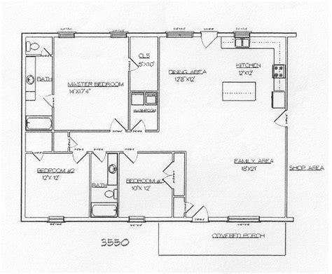 barndominium floor plans 30x50 joy studio design gallery pinterest barndominum plan joy studio design gallery