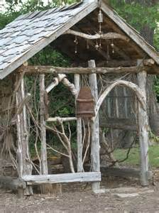 rustic shed for the garden so home and garden