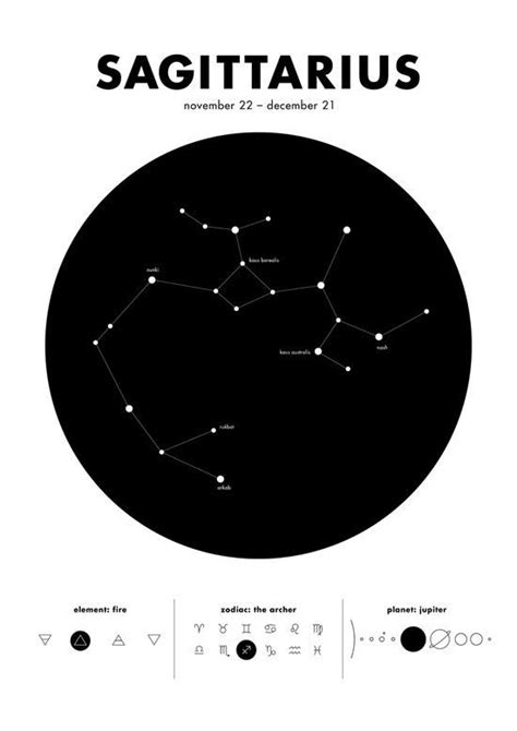 sagittarius constellation tattoo sagittarius constellation the things