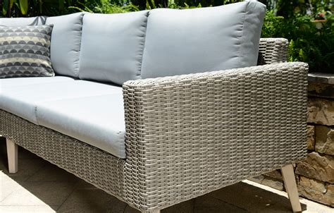 grey rattan corner sofa grey rattan corner sofa garden furniture out out