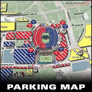 of florida parking map florida information football georgiadogs