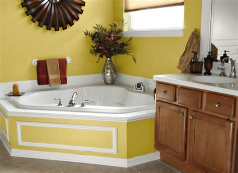bathroom decoration small decorating ideas blue and yellow