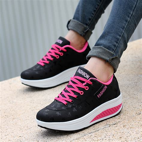 Casual Shoes S 499 New Arrival casual shoes 2018 new arrival breathable fashion waterproof wedges platform sneakers