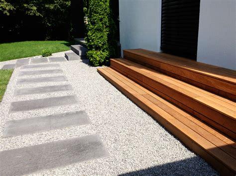 Terrasse 50 Wohnfläche by Garten Terrasse Treppe Holz Treppen Und Wege Bruckmeier