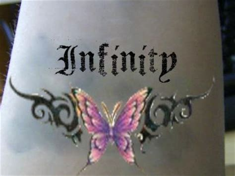 design your own infinity tattoo infinity