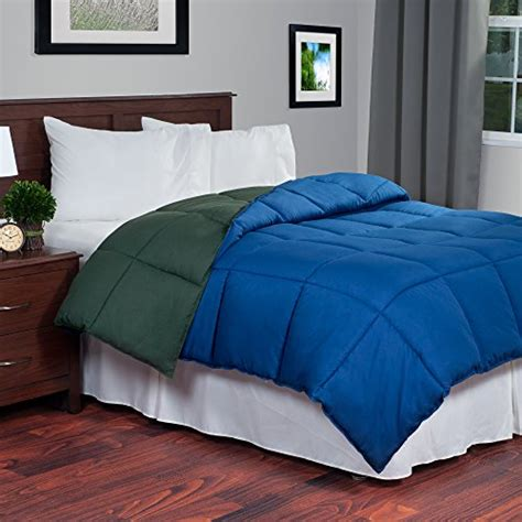 home design bedding down alternative lavish home reversible down alternative comforter twin