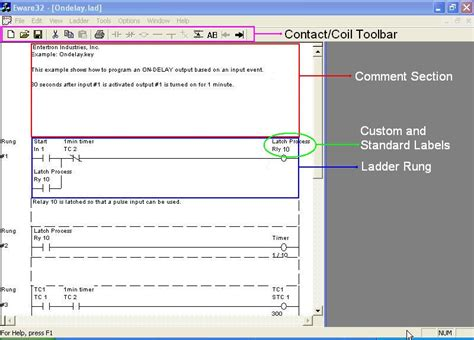 in timer for ls free plc relay ladder logic programming software with