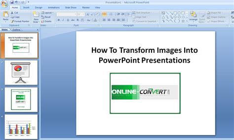 How To Transform Images Into Powerpoint Presentations How To Powerpoint For Free