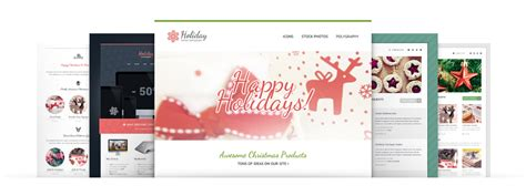 Free Christmas Email Template Html Version Gt3 Themes Special Offer Email Template
