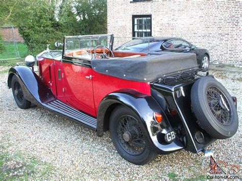 1933 rolls royce 20 25 4 5 seat convertible coupe stunning