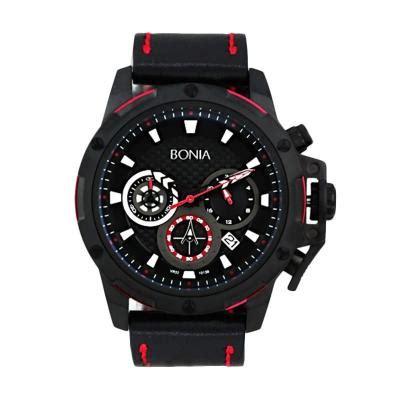 harga bonia bn10139 1732c black jam tangan pria pricenia