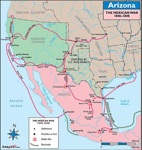 and mexican war map silvii in the mexican war