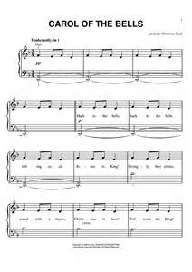 Carol of the bells sheet music music for piano and more