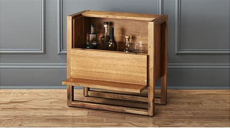 Home Shop Plans elixir mini bar table cb2