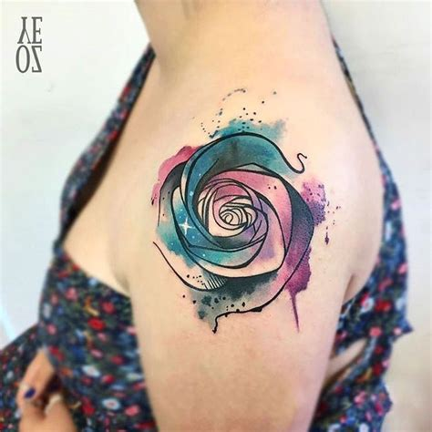exotic tattoos for men 25 unique watercolor tattoos ideas on
