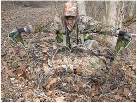 Bow Hunting Blind Plans Ghostblind Runner 6 Panel Mirror Ground Blind Mpn Gbi
