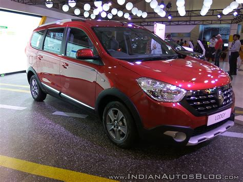 renault lodgy 2017 renault lodgy world edition showcased at aps 2017