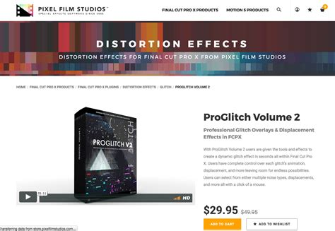 final cut pro unsupported volume type proglitch volume 2 was released by pixel film studios for fcpx