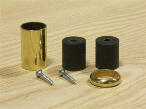 walking tips brass ferrule with rubber tip brass walking tip walking parts